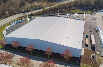 Pacific WoodTech Cold Press Building